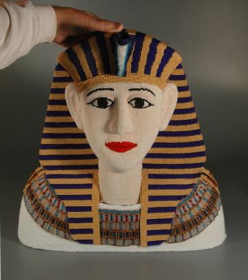 Egyptian teapot front