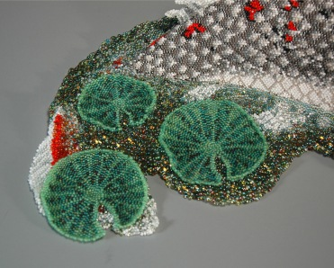 Grigsby beadwork sculpture