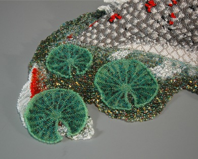 Grigsby beadwork sculpture