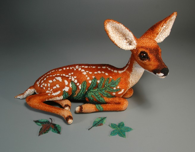 "Grigsby Beadwork - ""Fawn (Hide)"""