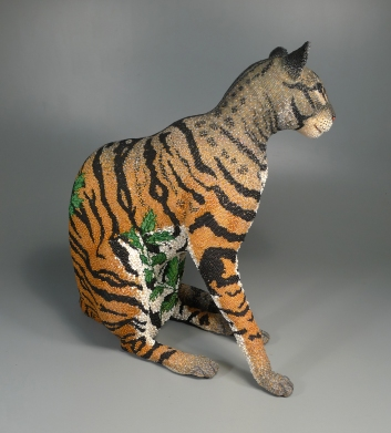 Grigsby Beadwork Tigger Tiger - right